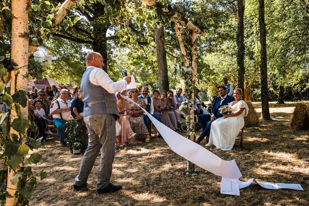 Henri Deroche mariage approche